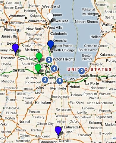 Michigan casinos map longstreet casino